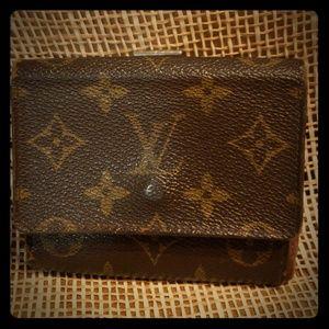 Louis Vuitton  Authentic Tri fold wallet